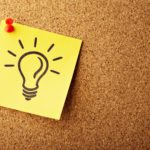 corkboard light bulb