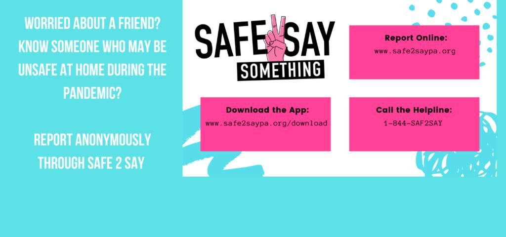 Safe 2 Say